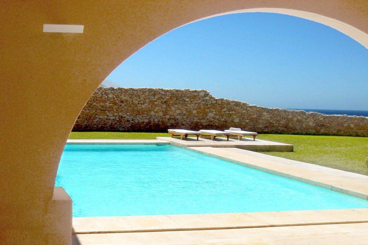 Villa Ibiza rental in stunning waterfront location