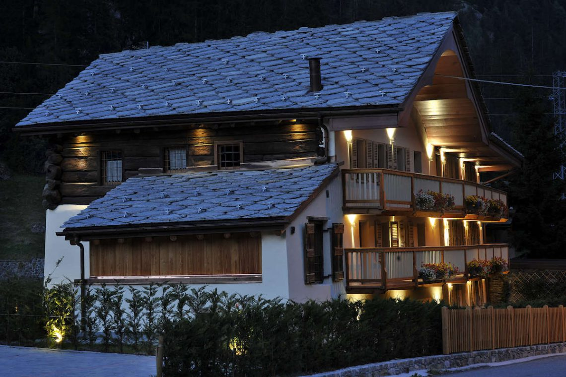 Apartments Gressoney in Walser house finely restored 08
