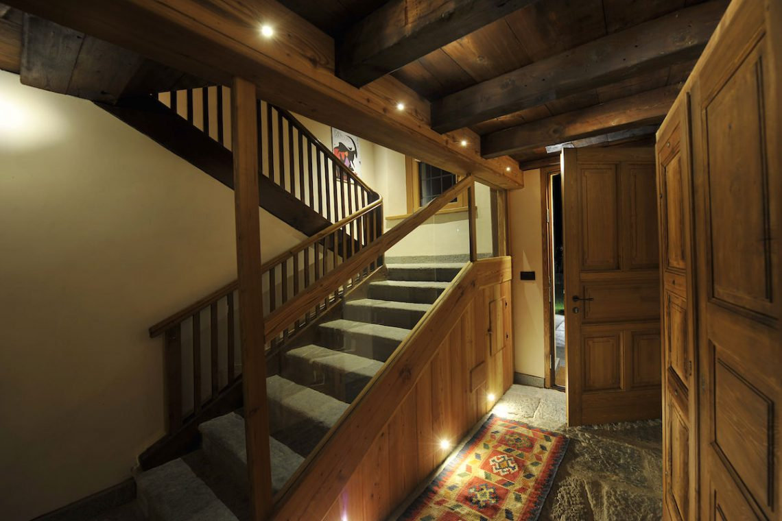 Apartments Gressoney in Walser house finely restored 13
