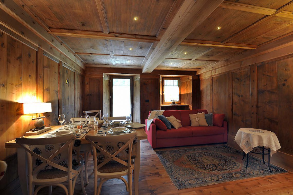 Apartments Gressoney in Walser house finely restored 14