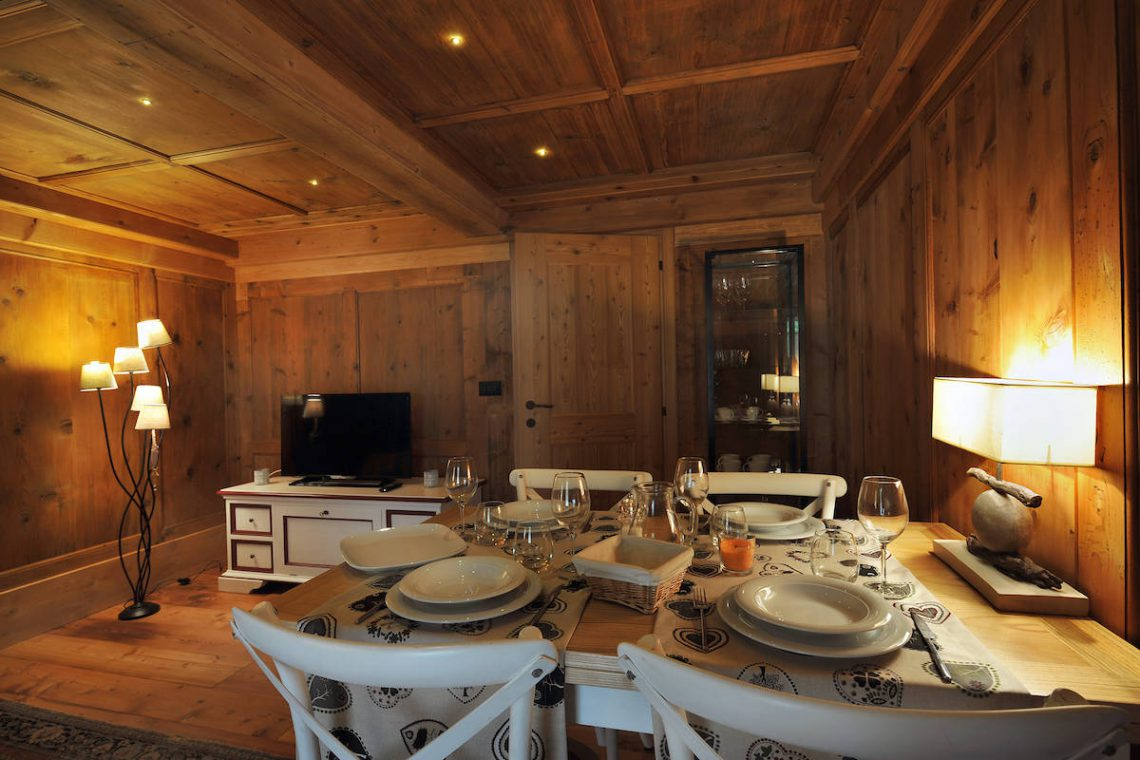 Apartments Gressoney in Walser house finely restored 15