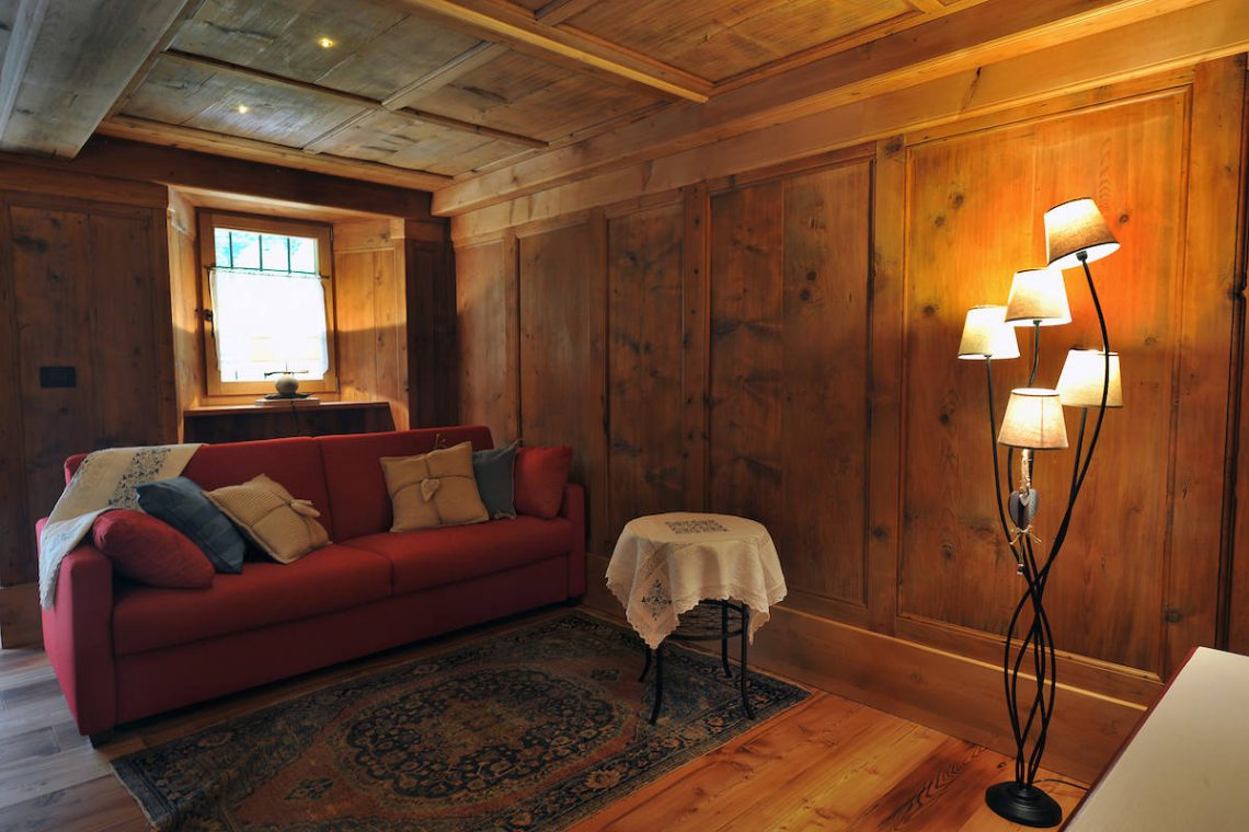 Apartments Gressoney in Walser house finely restored 16