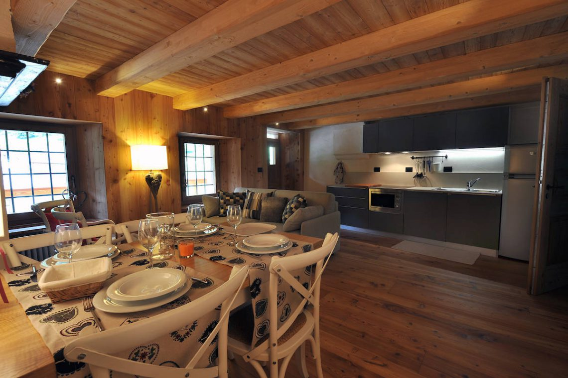 Apartments Gressoney in Walser house finely restored 20