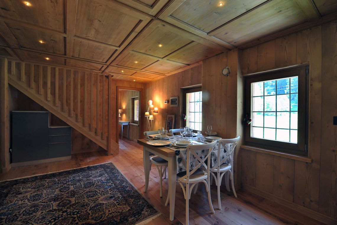Apartments Gressoney in Walser house finely restored 21