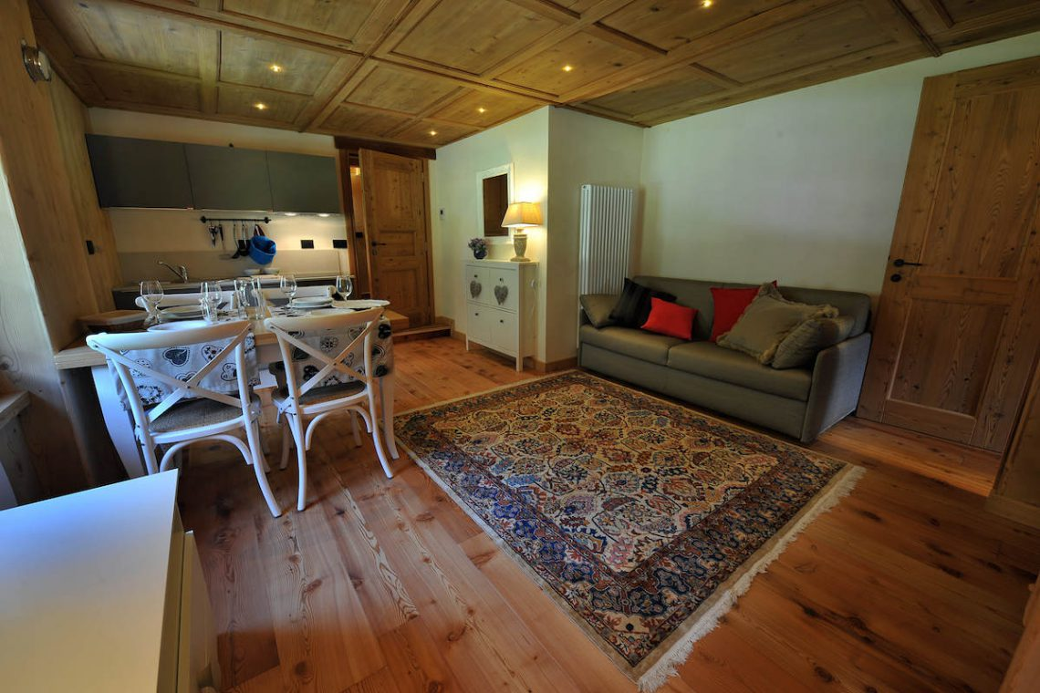 Apartments Gressoney in Walser house finely restored 22