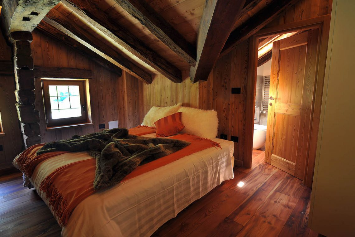 Apartments Gressoney in Walser house finely restored 27