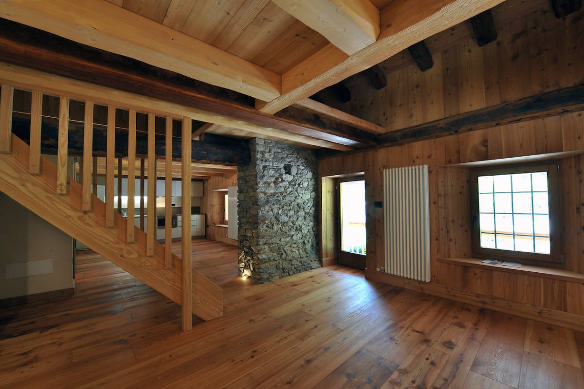 Apartments Gressoney in Walser house finely restored 32