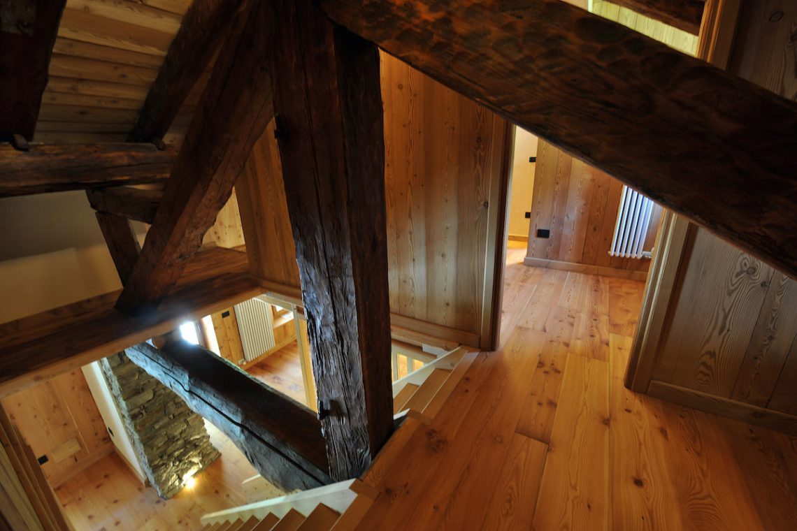 Apartments Gressoney in Walser house finely restored 36