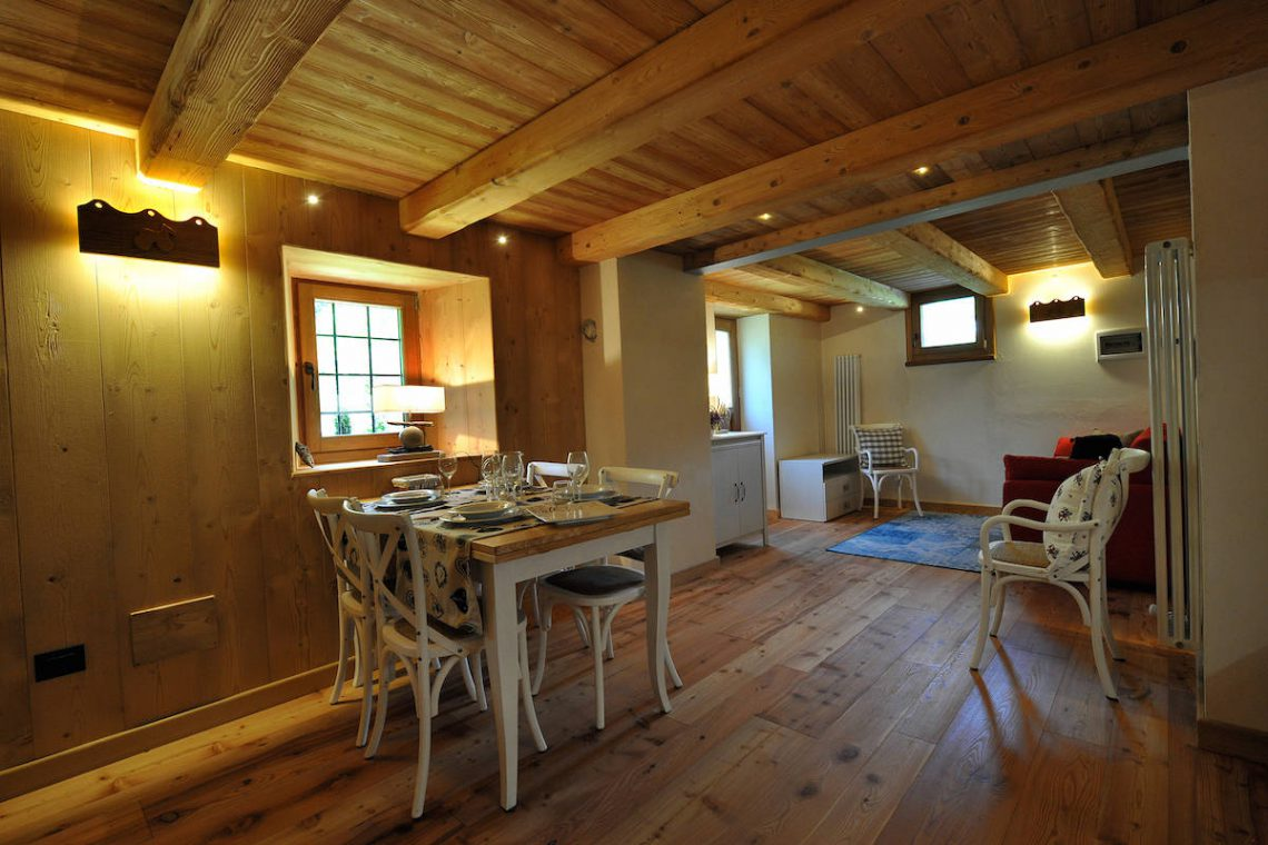 Apartments Gressoney in Walser house finely restored 40