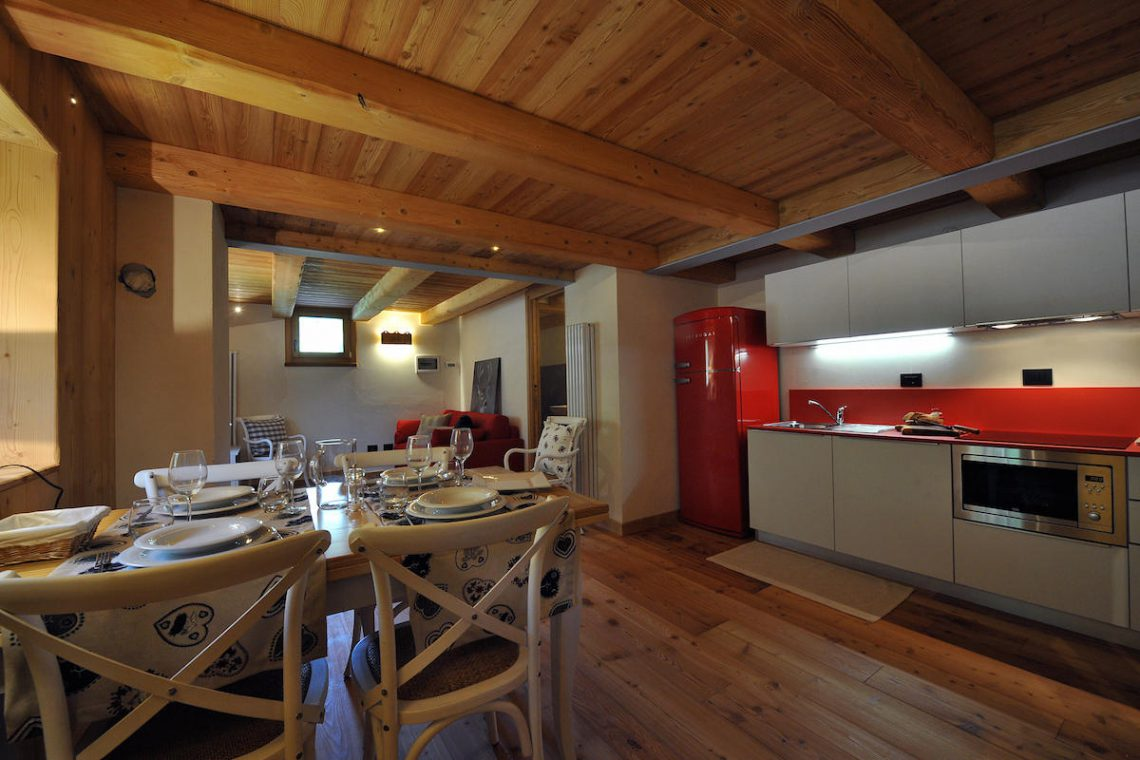 Apartments Gressoney in Walser house finely restored 41