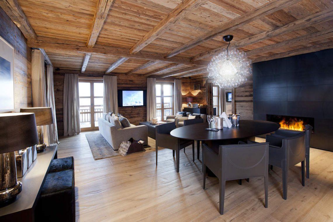 Luxury Chalet Oberlech directly on ski slopes 07