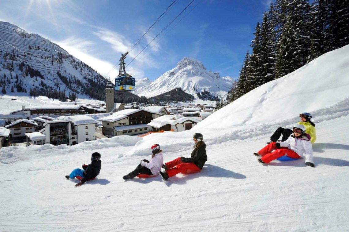 Luxury Chalet Oberlech directly on ski slopes 38