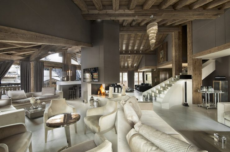 Chalet Courchevel for rent 30m from ski slopes