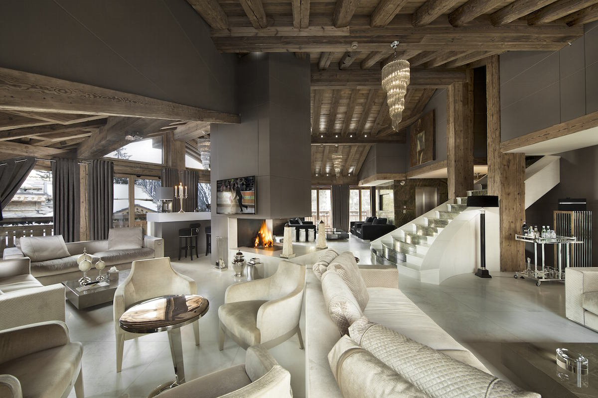 Luxury Chalet Courchevel for rent just 30m from ski slope