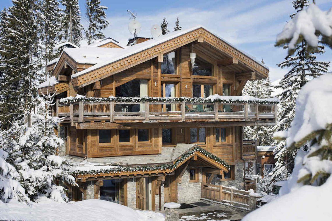 Luxury Chalet Courchevel for rent 01