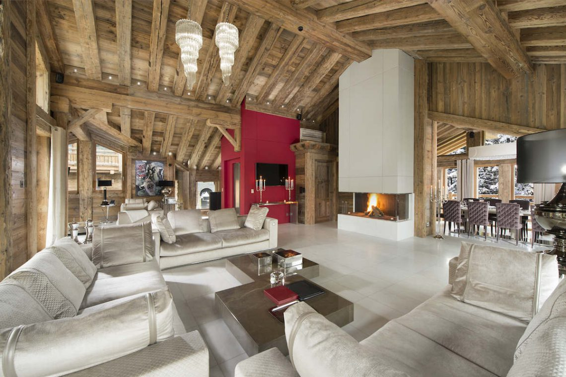 Luxury Chalet Courchevel for rent 02