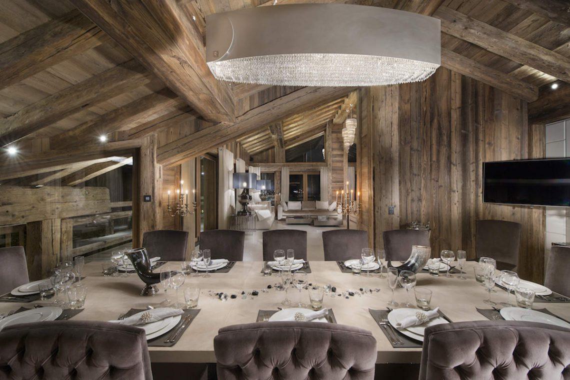 Luxury Chalet Courchevel for rent near ski slopes 06