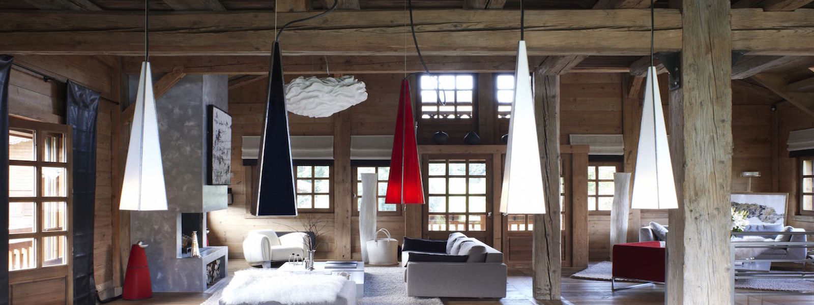 Luxury Chalet Megeve surrounded by French Alps