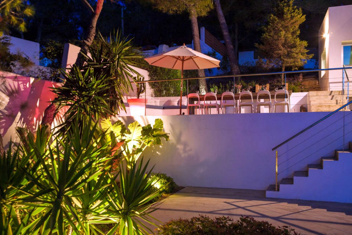 Luxury Villa Ibiza sea view for rent with pinewood 05