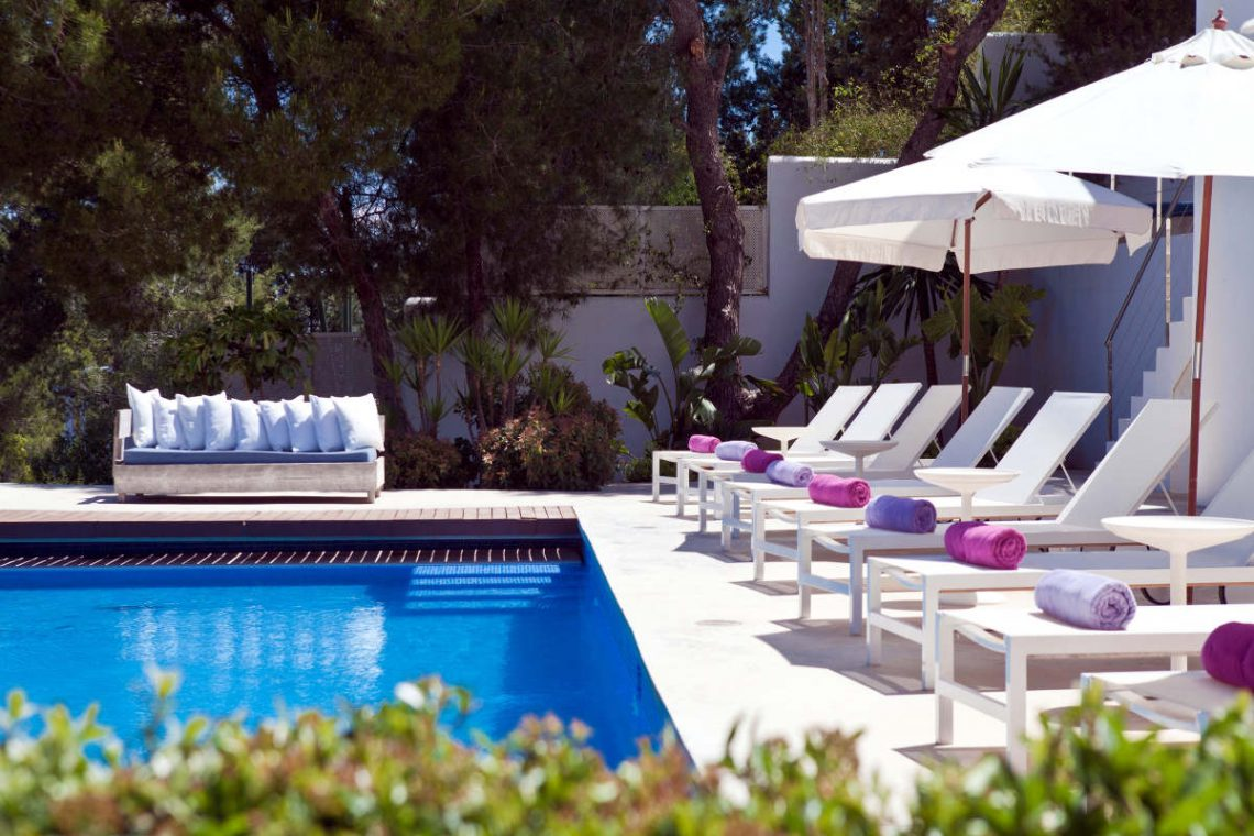 Luxury Villa Ibiza Sea View for rent with pinewood 11