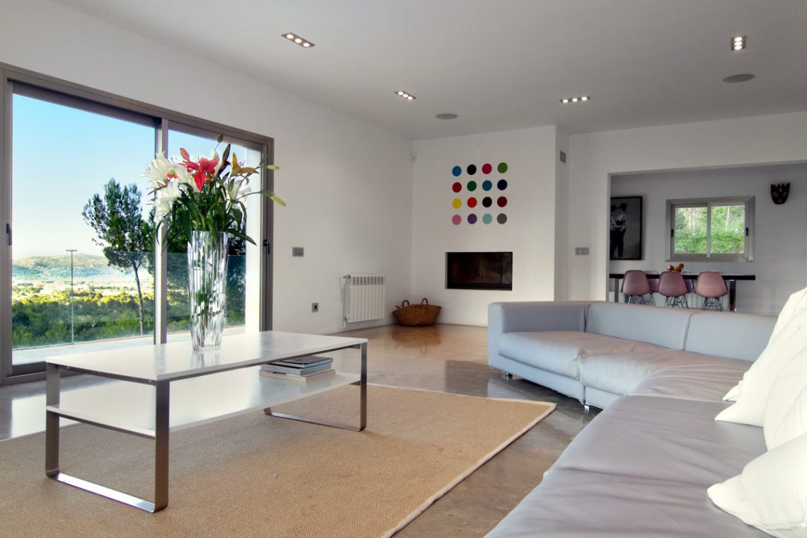Luxury Villa Ibiza Sea View for rent with pinewood 26