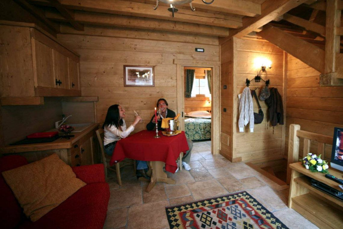 Chalet Livigno rent with private SPA & Wellness area 12