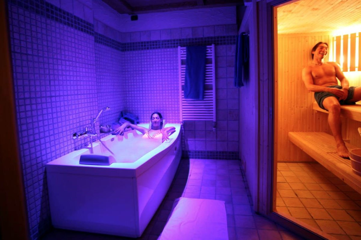 Chalet Livigno rent with private SPA & Wellness area