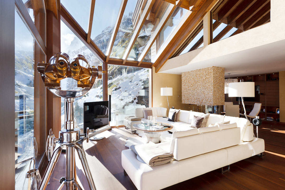 Luxury chalet Zermatt for rent with Ultra Luxury 5 star service