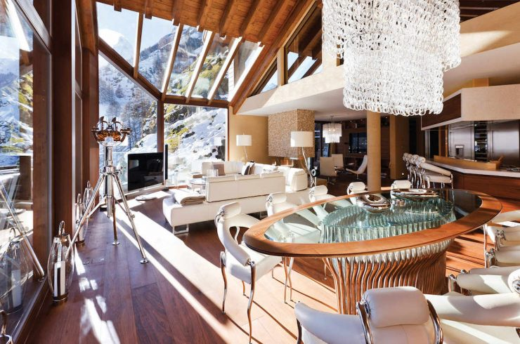 Luxury chalet Zermatt for rent with Ultra Luxury 5 Stars service