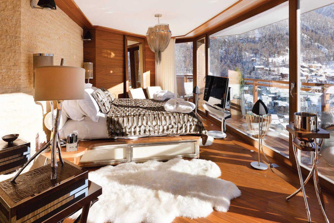 Luxury chalet Zermatt for rent with Ultra Luxury 5 star service 24