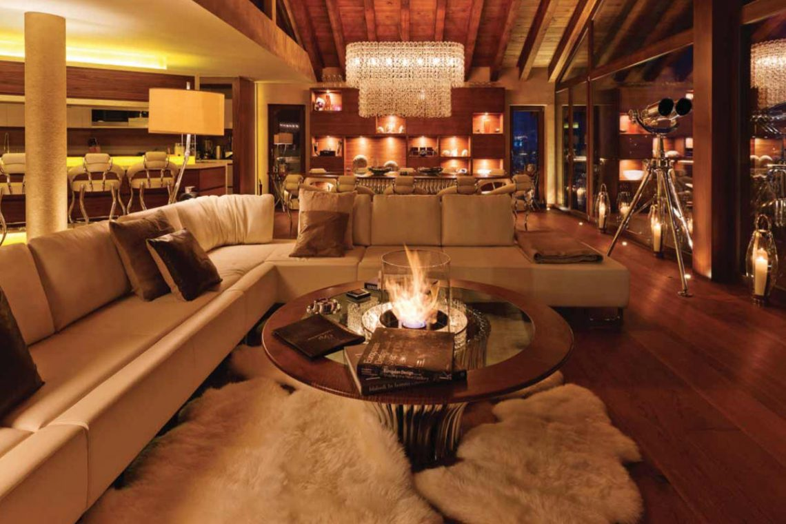 Luxury chalet Zermatt for rent with Ultra Luxury 5 star service 30