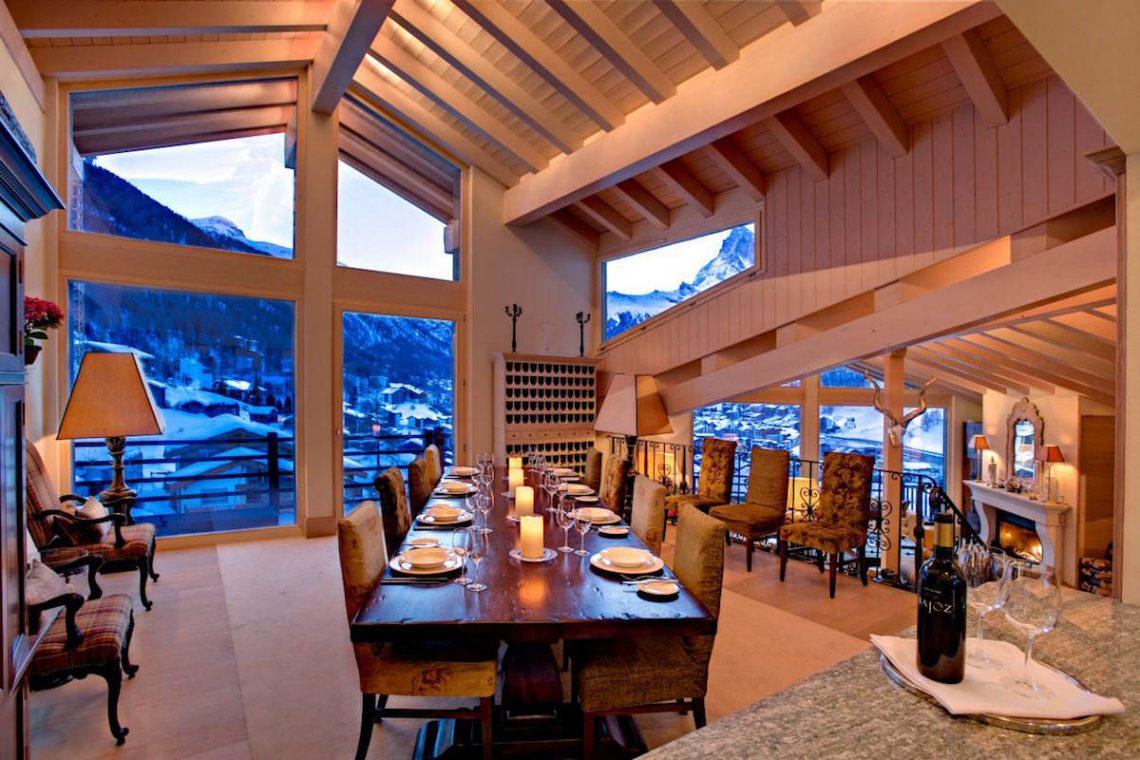 Luxury chalet Zermatt for rent 07