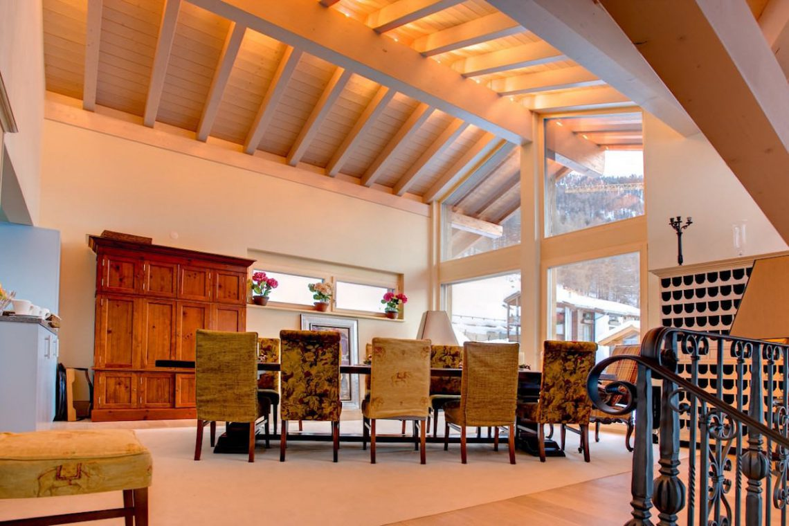 Luxury chalet Zermatt for rent 09
