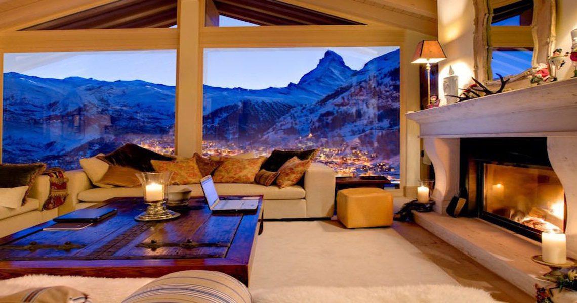 Luxury chalet Zermatt for rent slider