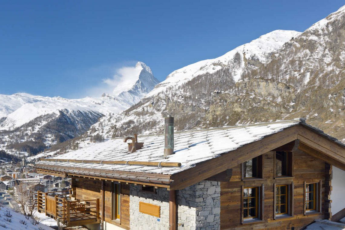 Luxury Chalet in Zermatt for Rent with Matterhorn view 01