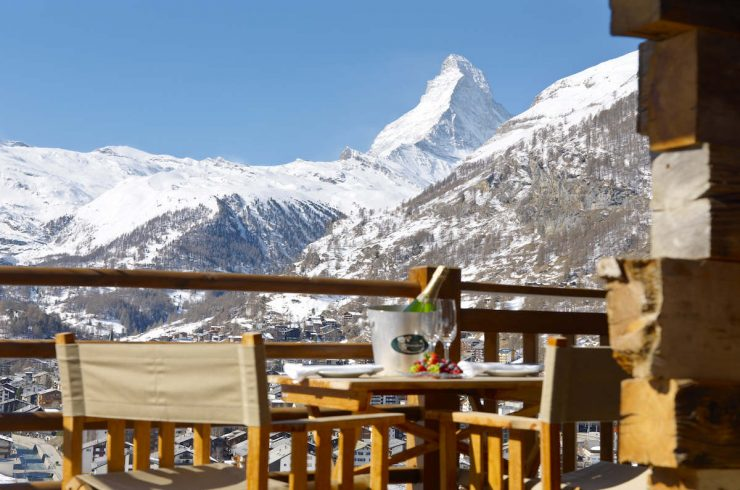 Luxury Chalet in Zermatt for Rent with Matterhorn view