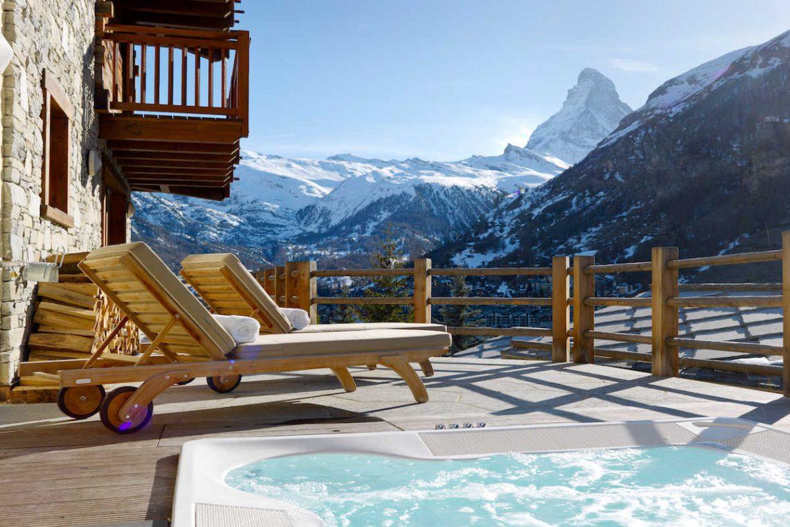 Luxury Chalet in Zermatt for Rent with Matterhorn view 03