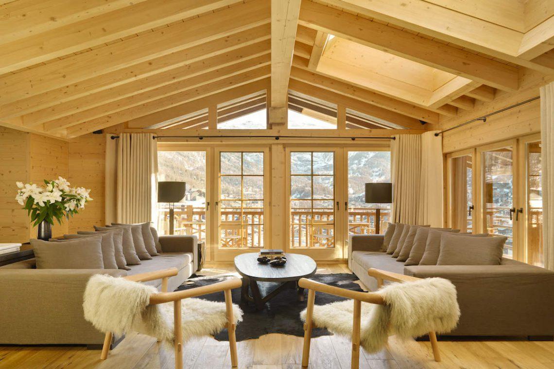 Luxury Chalet in Zermatt for Rent with Matterhorn view 04