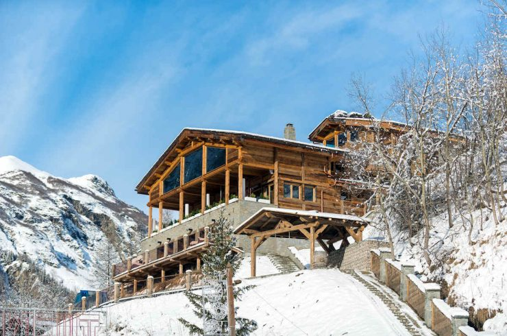 Chalet Tignes Les Brévières for Rent with 5 Stars Service