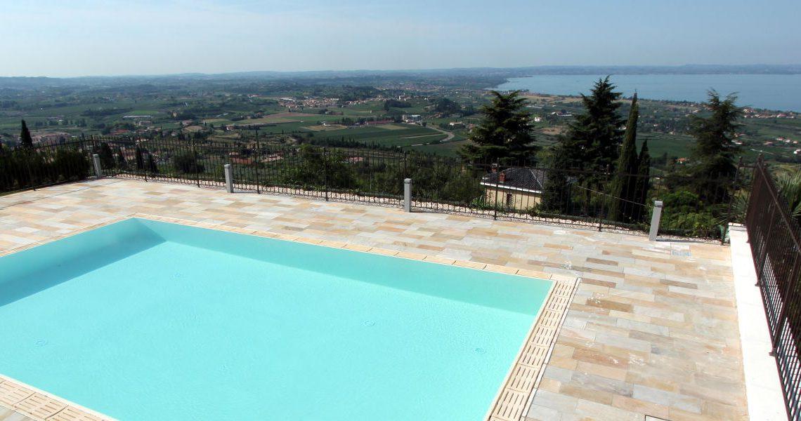 Villa Garda Lake with awesome lake view slider