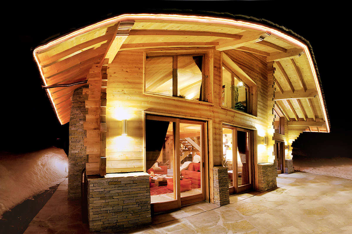 Chalet Crans Montana indoor pool & SPA