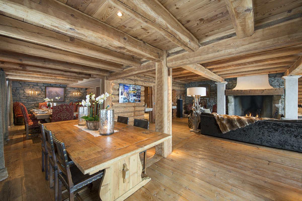 Chalet Verbier for sale directly on ski slopes