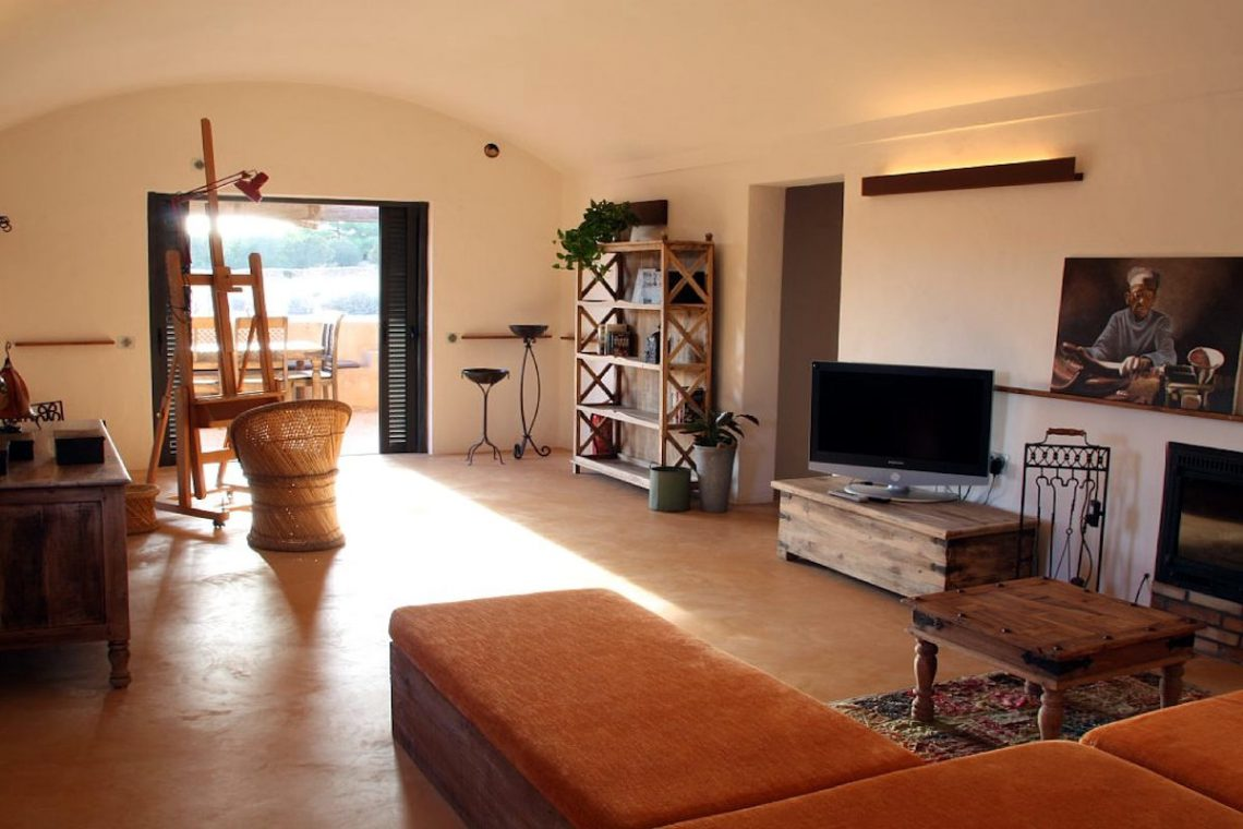 Luxury villa Formentera rent with swimming pool and tub 05