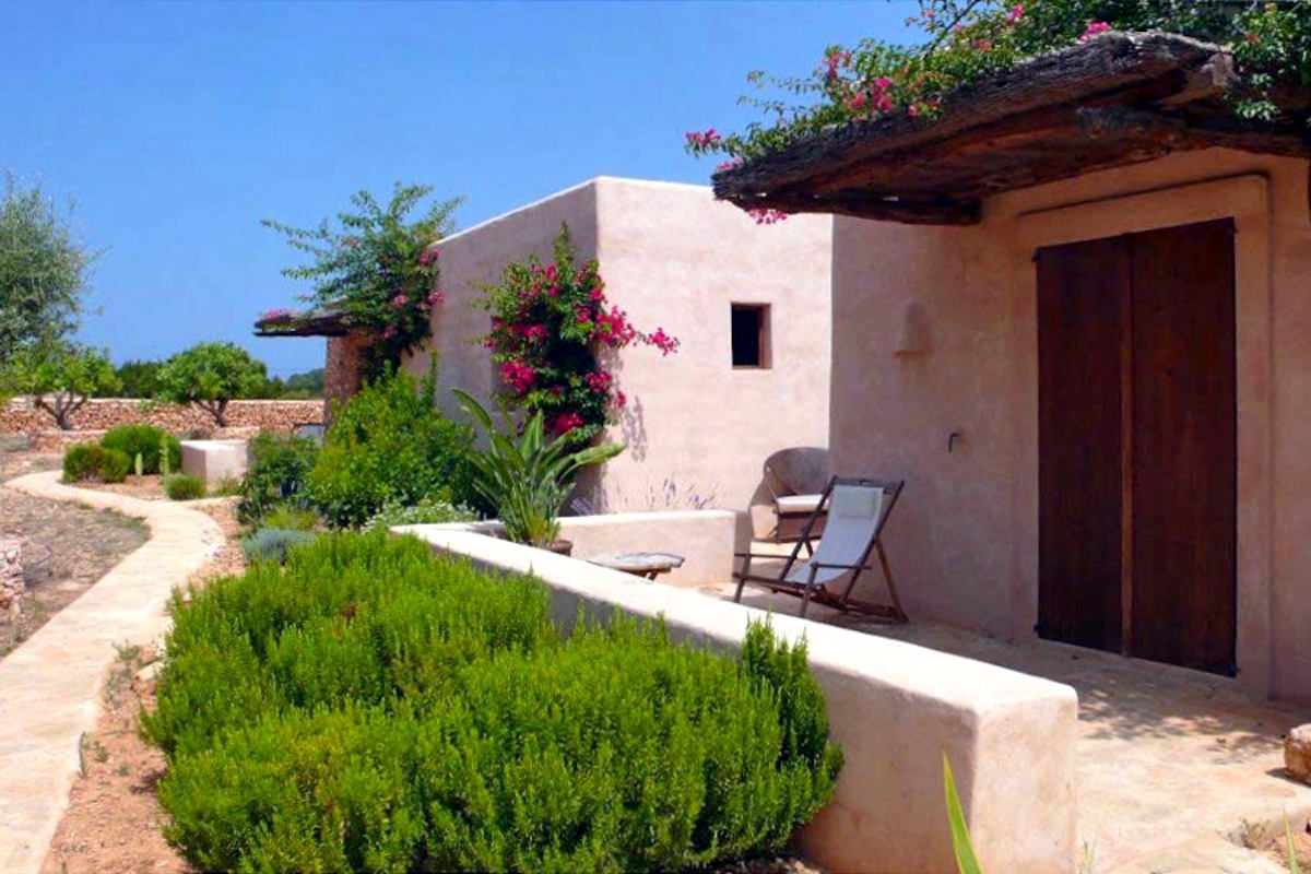 Villa Formentera rent with pool and sea view