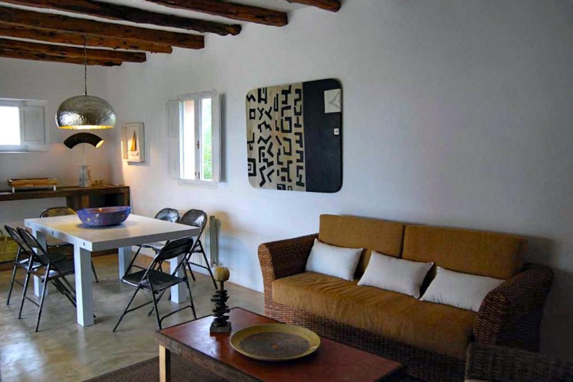 Villa Formentera rent with pool and sea view 10