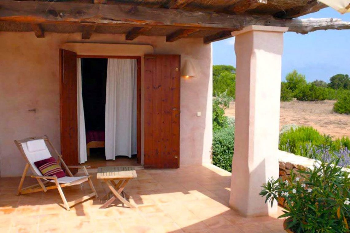 Villa Formentera rent with pool and sea view 16
