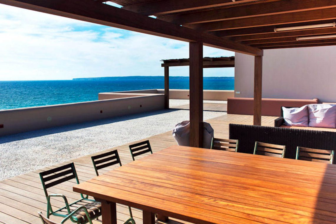 Waterfront villa Formentera rent with 2 pools 04