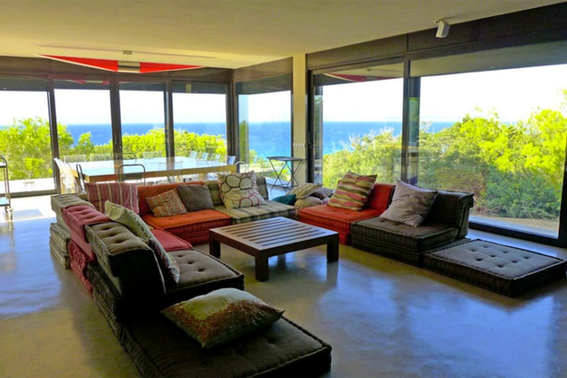 Waterfront villa Formentera rent with 2 pools 08