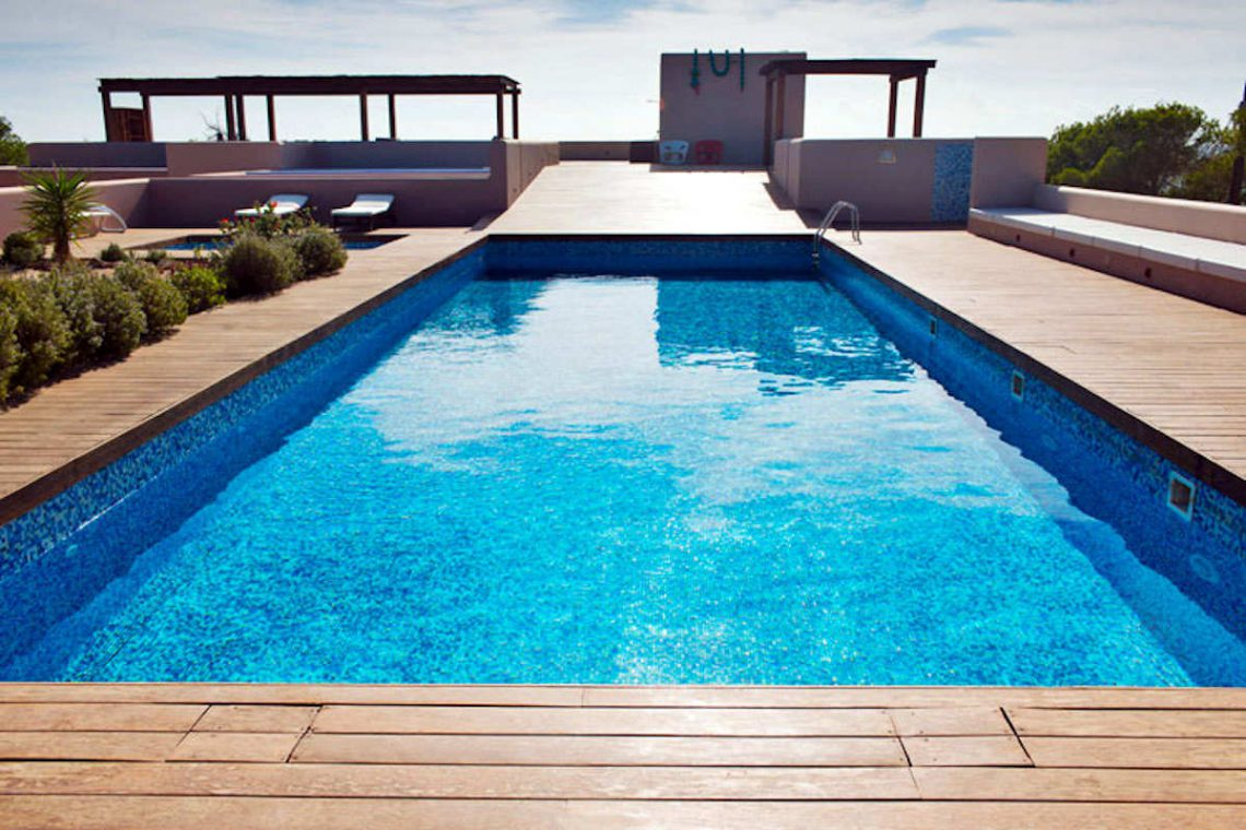 Waterfront villa Formentera rent with 2 pools 13
