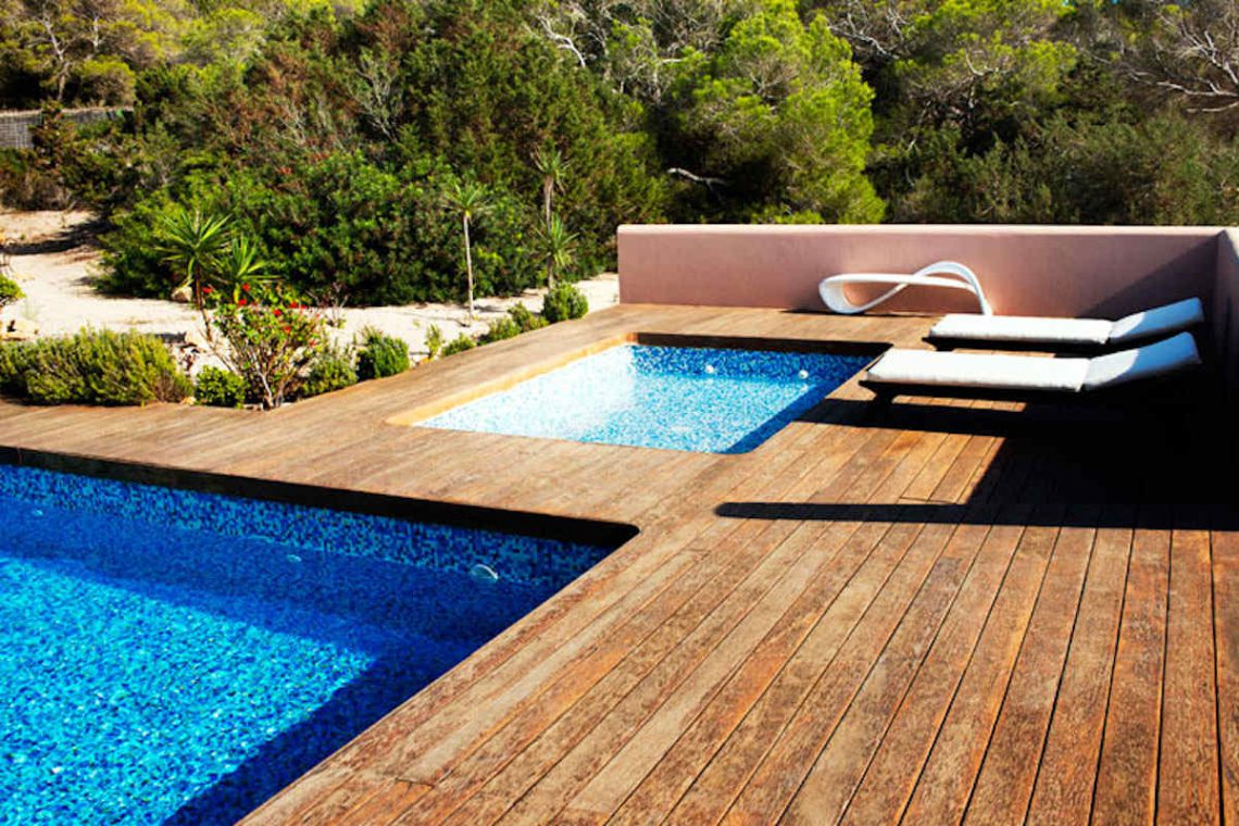 Waterfront villa Formentera rent with 2 pools 15